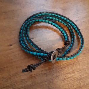 Jewelry - Turquoise wrap bracelet